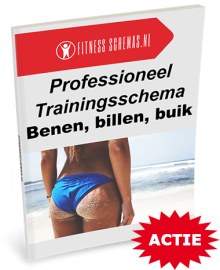 Dames benen, billen, buik trainingsschema