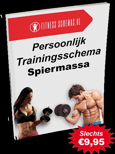 Persoonlijk trainingsschema voor Spiermassa